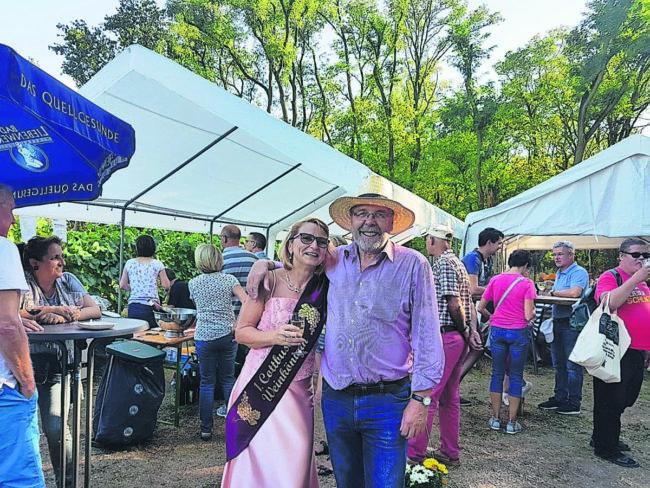 Klein Oßnig: Weinfest auf dem Sonnenhügel am 8. September 2019