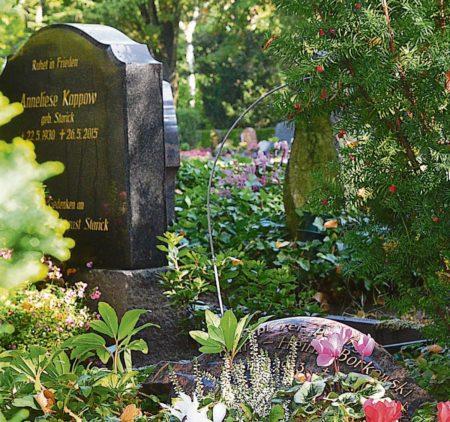Herbstliche Friedhöfe in der Lausitz