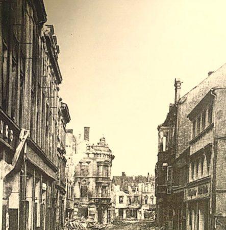 Damals's wars Guben: Das Kaufhaus in der Herrenstraße 1