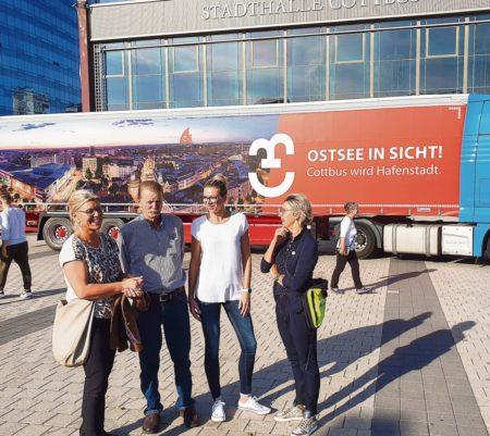 Cottbus: Hafenstadt im Rollen