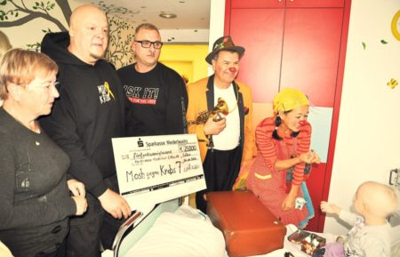 Senftenberg: Mosh gegen Krebs