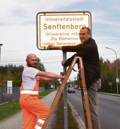 Senftenberg: Zeichen gesetzt