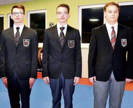 Spremberger Judoka bestehen Prüfung