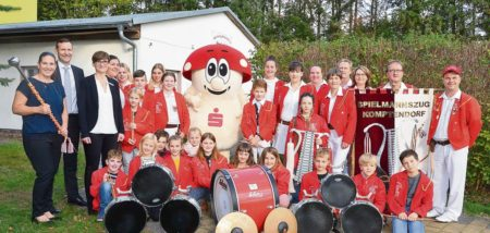 Cottbus: Spielmannszug Komptendorf erhält neue Uniform