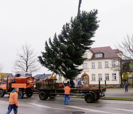 Weihnachtliches Kolkwitz