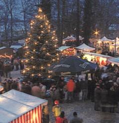 Weihnachtsstimmung in Vetschau