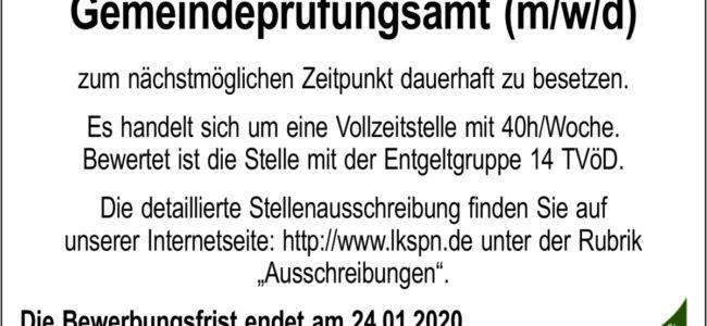 Landkreis Spree-Neiße: Fachbereichsleiter Rechnungs- und Gemeindeprüfungsamt (m/w/d)
