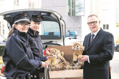 Region: Polizei hat Trost-Teddys