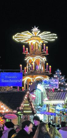 1000 Lichter funkeln in Cottbus