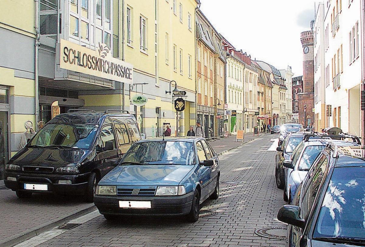 Wieder mal: Verwaltung will Cottbuser Altmarkt autofrei