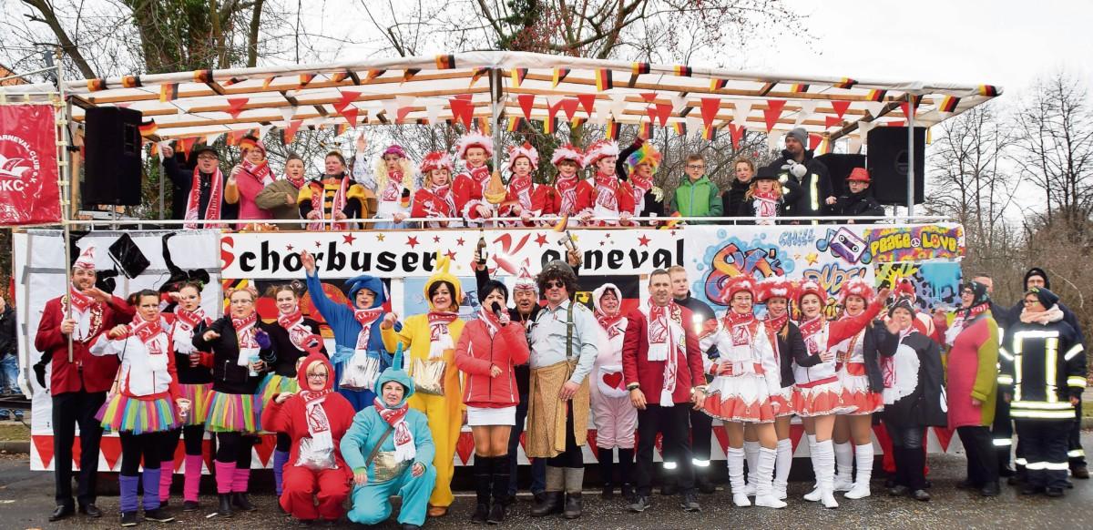 Karneval in Schorbus