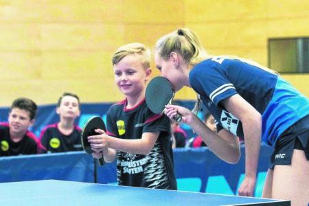 Tischtennis für Kinder der Region