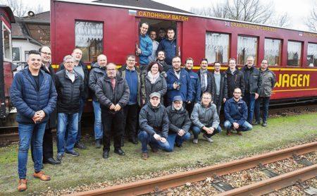 Cottbuser Parkeisenbahn ist fit  für die 67. Saison