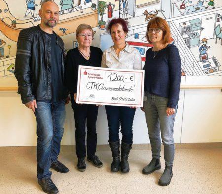 Forst/Cottbus: Spende für Kinderkrebsstation