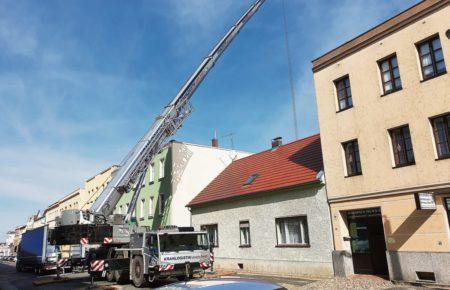 Cottbus: Bauarbeiten in Sachsendorfer Straße