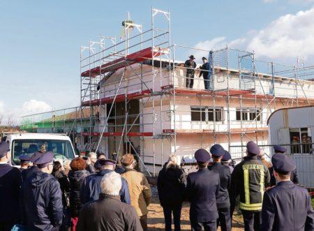Neues Feuerwehrhaus für Hänchener Kameraden