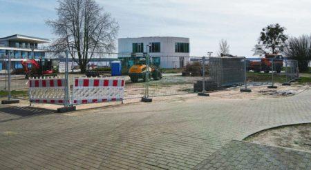 Bau am Senftenberger Stadthafen