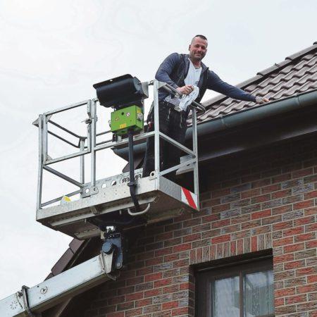 Cottbus: Sicherheit am Dach