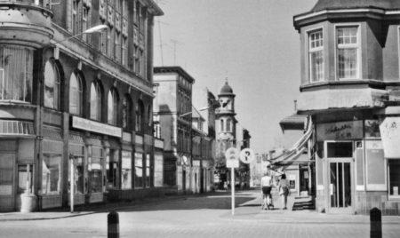 Damals war's Forst: Die Cottbuser Straße / Ecke Am Markt