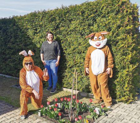 Groß Drewitz: Ostergrüße vom Dorfclub