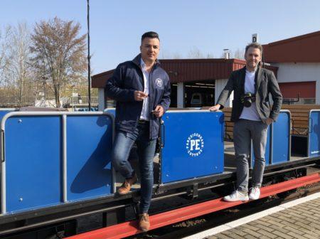 Cottbus: Einsteigen bitte! Mit der Parkbahn ins Osterland