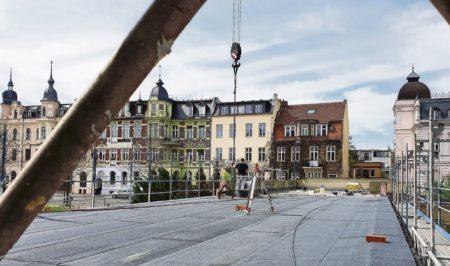 """Cottbus: Der Jugendstilbau saniert seine """"Flügel"""""""