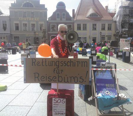 Region: Demos für Rettungsschirm