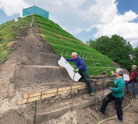 Cottbus: Pyramide erstrahlt in neuem Glanz