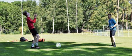 Cottbus: Gehirnjogging auf dem Fußballfeld