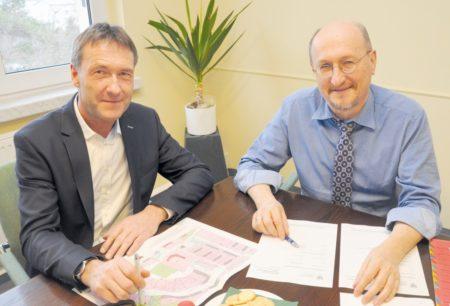Senftenberger: Bürgermeister besucht KWG