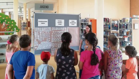 Ferien Lese Club in Gubener Stadtbibliothek