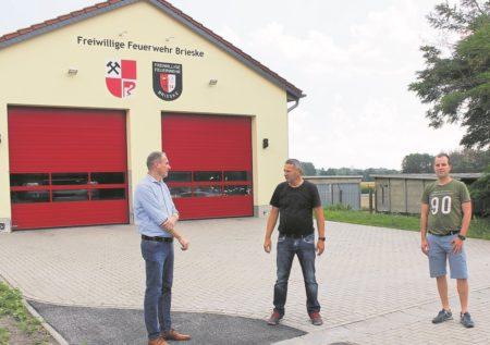 Erneuerungen am Briesker Feuerwehrhaus