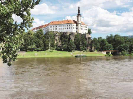 Die Elbe: Zur deutschen Grenze