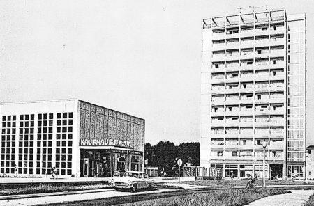 Bilder aus dem alten Cottbus: Das ganz und gar vergessene Hochhaus