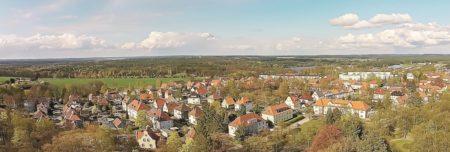 Bilder aus dem alten Spremberg: Turm ganz vorn lässt keinen Zweifel