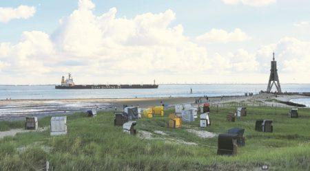 Die Elbe: Endlich das Meer