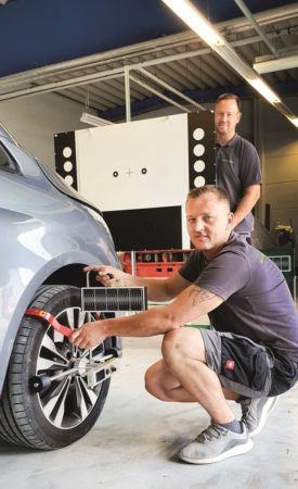 Cottbus: Die Reparaturmethode macht den Unterschied