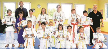 Gürtelprüfung für Spremberger Judoka