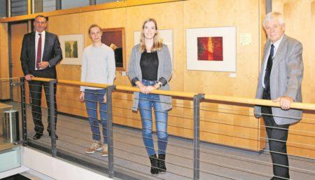 Fredrich begrüßt die Uni-Besten in Senftenberg