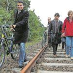 Schnelle Wege in die neue Cottbuser Ostsee-Vorstadt