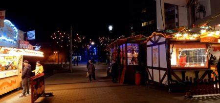 Weihnachtsshopping im Cottbuser Blechen Carré