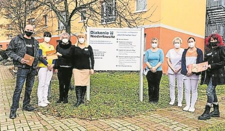 Cottbus: Spende von E-Center Scholz