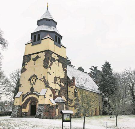 Winterliches Hornow