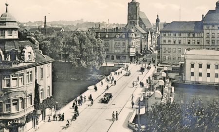 Altes Guben: Pro Tram-Fahrt 80 Milliarden Mark