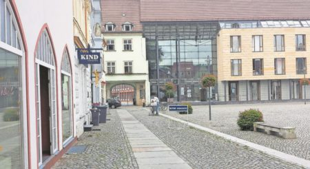 Bilder aus dem alten Senftenberg: Inzwischen ein preisgekröntes Rathaus