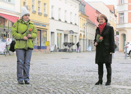 Gedenken an Opfer des Holocaust in Senftenberg