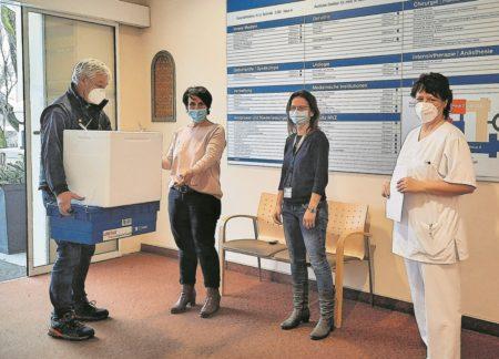 Erste Impfdosen für Forster Lausitz Klinik