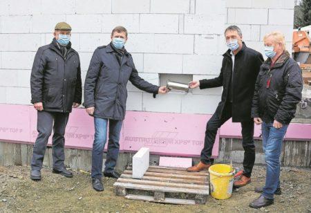 Grundstein für neue Klettwitzer Rettungswache gelegt
