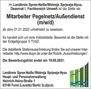 Neuer Windpark in Forst