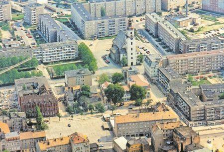 Die Dramatik im Forster Städtebau